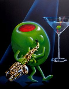 Oh My Godard Gallery- Jazz Martini