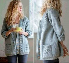 Knit Cardigan, Knitting Patterns, Detail, Inspiration, Clothes, Craft, Style, Fashion, Girls Coats