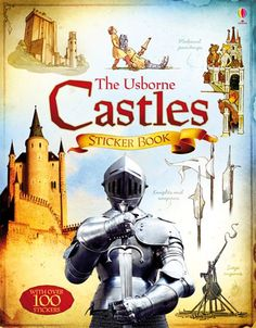 A fascinating illustrated sticker book that takes readers back in time to the dangerous Middle Ages, and the castles that people built and lived in.  http://www.usborne.com/catalogue/book/1~ILB~ILH~6129/castles-sticker-book.aspx  #castle #sticker #book #history #medieval #knight #middle #ages #new #January #2015 #Usborne #children #learn