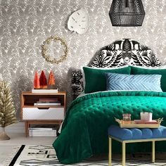 Festive Bohemian Bedroom Ideas Collection : Target