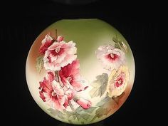 Lampshades, Punch Bowls, Poppies, Porcelain, Glass, Painting, Lamp Shades, Drinkware, Porcelain Ceramics