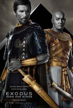 Cinefest Coverage: Exodus: Gods and Kings Movie Poster.  Note:  A blistering review from Ebert. We still want to see this though.
