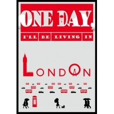 Message Teller - One day I want to live in London