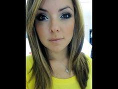 Maquiagem - Azul Marinho e Dourado
