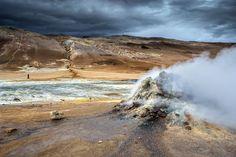 Námaskarð | Geothermal area in Námaskarð, near Mývatn - North Iceland. Photography by Snorri Gunnarsson