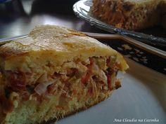 Ana Claudia na Cozinha: Torta na Frigideira de Frango