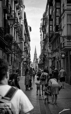 Walking in San Sabastián