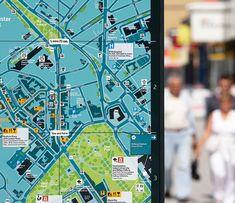 Southampton legible city map detail