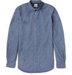 Paul SmithSlim-Fit Jacquard-Woven Cotton Shirt|MR PORTER