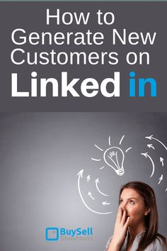 How to Generate New Customers on LinkedIn Linkedin has revealed itself as one of the fastest growing and effective Business and Brand outreach platforms available today. Social Media Icons, Social Media Tips, Business Tips, Online Business, Stand Design, Booth Design, Banner Design, Design Design, Graphic Design