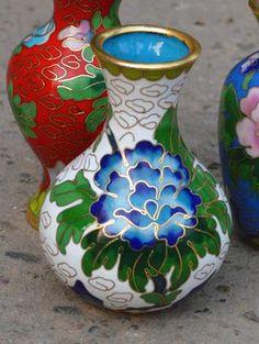 China vento rainha filigrana cloisonne esmalte polegadas vaso decoração em Vasos de Casa & jardim no AliExpress.com | Alibaba Group
