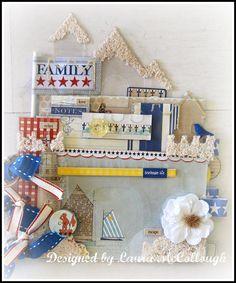 Sand Castle Beach Acrylic Album. $29.99, via Etsy by Laura McCollough