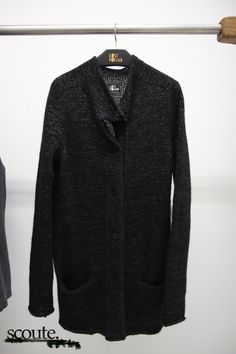 Lost   Found FW12 showroom - mens fashion cardigan knitted big masks  Cardigan Fashion 25d982e890d95