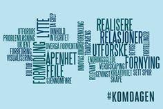 SKAP INNOVASJON MED KOMMUNIKASJON!  Kommunikasjonsdagen, Det Norske Teatret 26.mars  Jeg er prosjektleder, kontakt meg hvis det er noe du lurer på :)  #komdagen #komforeningen #kommunikasjon Tech Companies, Company Logo, Events, Logos, Logo