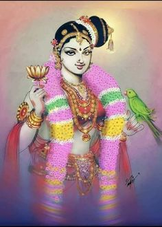 Godsspeaklovelanguage - Rama Rajan Andal Source You are in the right place about Painting Art abstra Saraswati Goddess, Kali Goddess, Indian Goddess, Goddess Art, Mother Goddess, Lord Shiva Painting, Ganesha Painting, Tanjore Painting, Ganesha Art