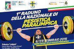 Sport paralimpico, alla Labas il primo raduno della Nazionale Paralimpica di Pesistica