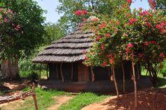 Pakwach, Uganda - mud hut on the Nile - 2010