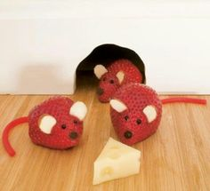 Jordbær mus