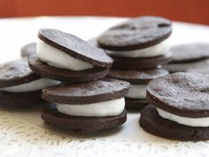 'Oreo' Cookies Recipe : Food Network - FoodNetwork.com
