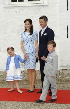 Princess Mary Photo - Christening of Prince Joachim and Princess Marie of Denmark's Daughter