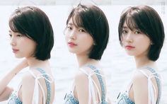 Latest Short Haircuts For Girls Over 50 Short Haircuts Short hair Bob Haircut Kpop Short Hair, Korean Short Haircut, Latest Short Haircuts, Asian Short Hair, Girls Short Haircuts, Girl Short Hair, Short Bob Hairstyles, Short Hair Cuts, Short Hair Korean Style