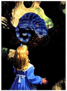 """""""Alice In Wonderland"""" by Greg Hildebrandt (1990)"""