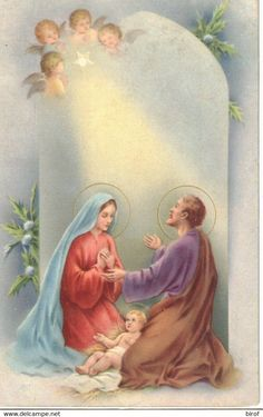 Christian Paintings, Christian Artwork, Catholic Quotes, Catholic Art, Holy Family Pictures, Christmas Pillow, Mother Mary, Christmas Greetings, Jesus Christ