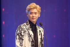 2014 Asia Model Awards 아시아모델상시상식 모델스타상 이종석