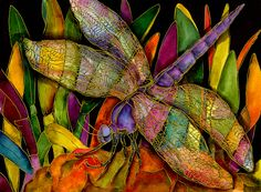 Dragonfly Art by Kate Larsson