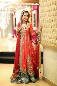 Trends Of Pakistani Bridal Dresses 2014 For Women 10