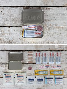 Knowing what to put inside these empty tins and when to keep them on hand could save a person's life!
