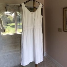 GAP White Tank Dress GAP White Tank Dress. Size M. NWT. No rips or stains. GAP Dresses
