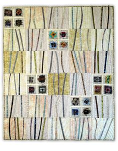 Security Blanket #3 by Ruth Wilson Briggs.  Front Range Contemporary Quilters 2013 portfolio.