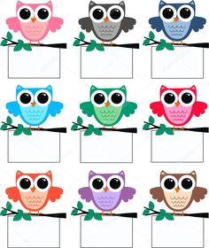 a big cute colourful owl family Kindergarten Classroom Decor, Owl Theme Classroom, Classroom Birthday, Classroom Board, Classroom Labels, Classroom Rules, Classroom Job Chart, Class Decoration, School Decorations