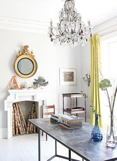 mantel inspiration for the summer season.