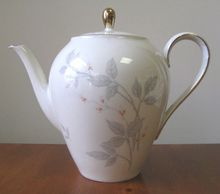 Vintage 1950's Bavarian Seltmann Weiden Liane Teapot    from WhimsicalVintage on Ruby Lane