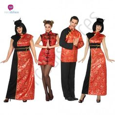 Disfraz de #China para mujer #disfraces para #grupos #comparsas en #mercadisfraces.es tu #tienda de #disfraces #online