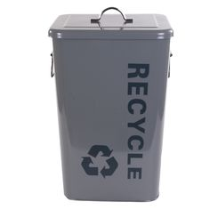 Boks Recycle medium grå