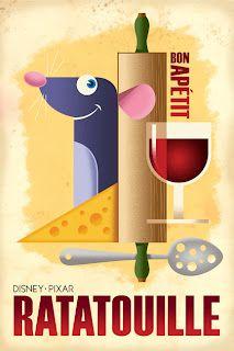 Remy Ratatouille #Disney #Pixar