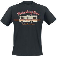 La maglietta con il famosissimo camper dove tutto ebbe inizio! #BreakingBad!