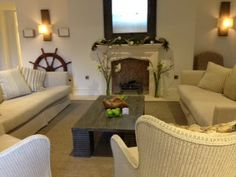 Neutral colours......Salcombe Harbour Hotel and Spa