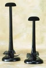 Large Black Wooden Hat Stand with Velour Top by Tripar Hat Display, Craft Show Displays, Visual Display, Display Ideas, Shop Displays, Display Stands, Booth Ideas, Antique Shops, Or Antique