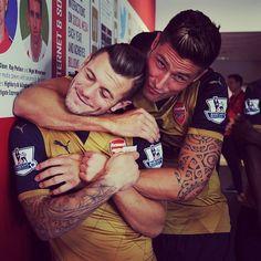 Jack Wilshere & Olivier Giroud