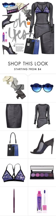 """""""Oh Yes...."""" by ansev ❤ liked on Polyvore featuring 3.1 Phillip Lim, Somedays Lovin, MAC Cosmetics, Jeffree Star and popmap"""