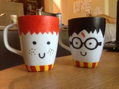 Harry Potter Mug. Great DIY for my kids.