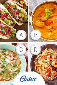 Spicy food is awesome, especially spicy international foods! Which spice filled dish do you prefer?  A. Mexican Tacos  B. Indian Chicken Masala  C. Vietnamese Fish Soup  D. Pad Thai
