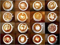 Un poco de latte para este día. Obra de Sammy Lin