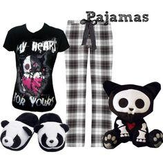 """Scene Outfits Pajamas   Pajamas"""" by randomness923 on Polyvore"""