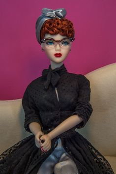 "Franklin Mint I Love Lucy La at Last Outfit Only for 16"" Vinyl Doll Fits Gene 