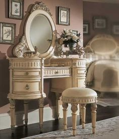 Victorian Style Vanity Table
